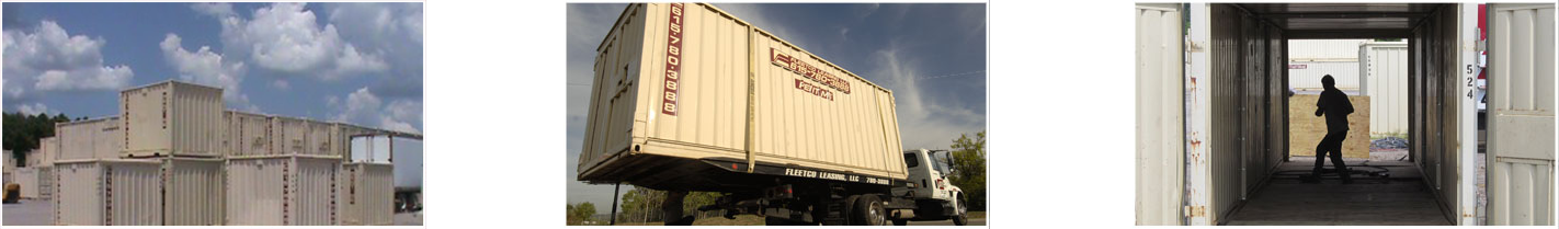 Fleetco Mobile Storage for Residential, Commercial, and Construction Equipment in Nashville, TN